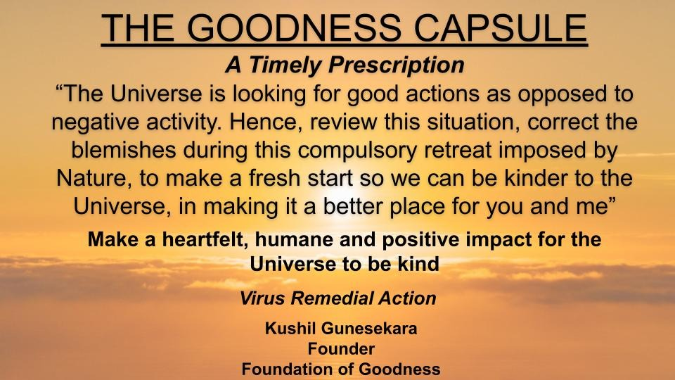 GOODNESS CAPSULE 9