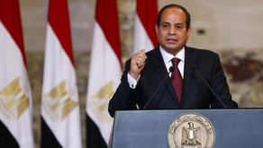 """The Egyptian president: """"I'm NOT a politician!"""""""