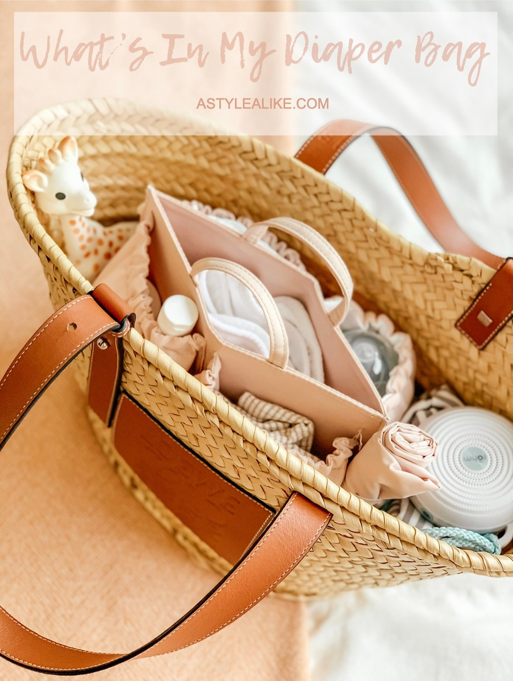 What's In My Diaper Bag l A Style Alike l Baby Essentials