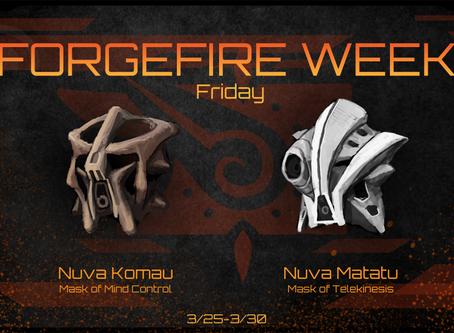 FORGEFIRE Friday: Masks of Psionics