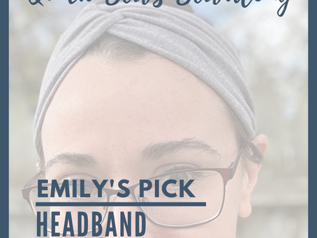 Sew Along with ALD Quick Sew Edition: Faux Knot Headband