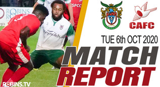 Robins fall to first league defeat of the season