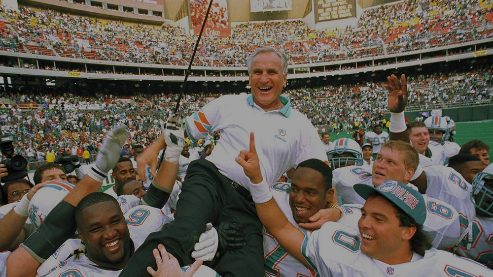 Don Shula won the COY Award 4 times, most in NFL History