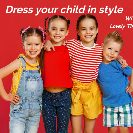 How can you dress your little girl in style?