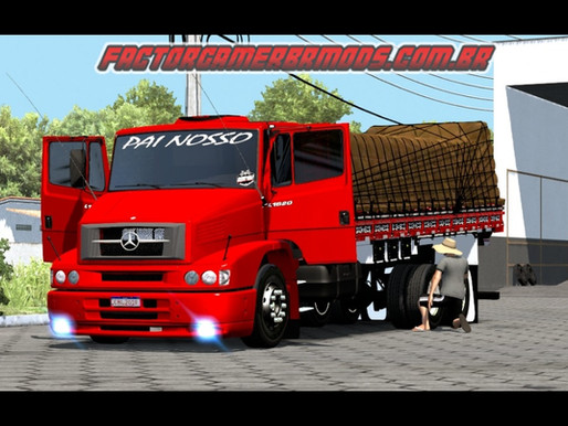 Download Mercedes 1620 Top e Qualificado para Ets2 V. 1.36.x