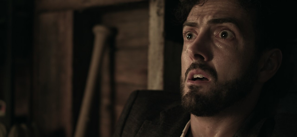 Still from Dual Action showing protagonist Joey Trombino.
