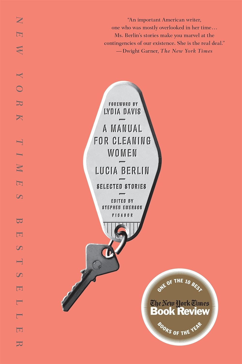 A Manual for Cleaning Women by Lucia Berlin thebookslut book reviews quarentine reads lockdown reading key chain pink cover