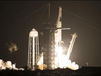 Despegó la nave de SpaceX hacia la Estación Espacial Internacional