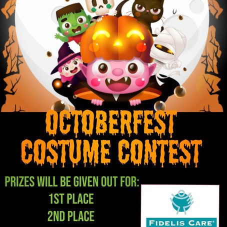Octoberfest Costume Contest!