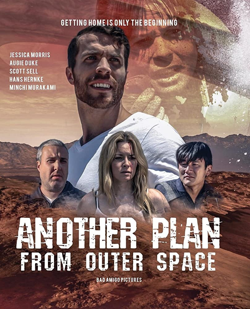 5 people stranded after a space crash. Title Another Plan from Outer Space