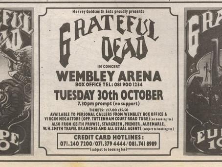 WEMBLEY 1990 PRE HALLOWEEN  Jam! 23 October