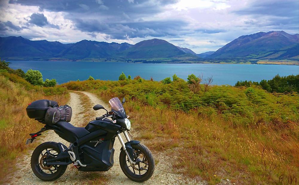 Zero Motorcycle New Zealand Top to bottom tour