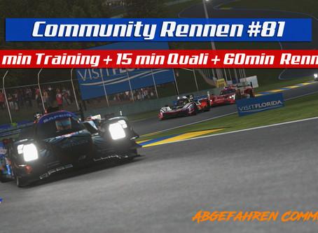 rF2-Community-Rennen #81 | Prototypenduell @ Road Atlanta