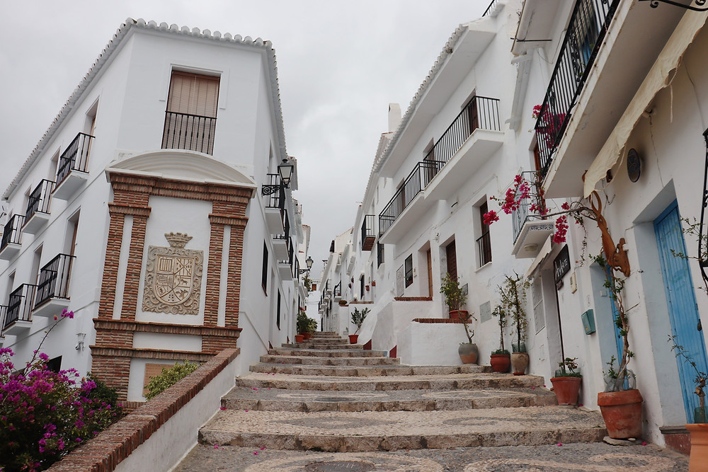 Frigiliana white village in southern spain