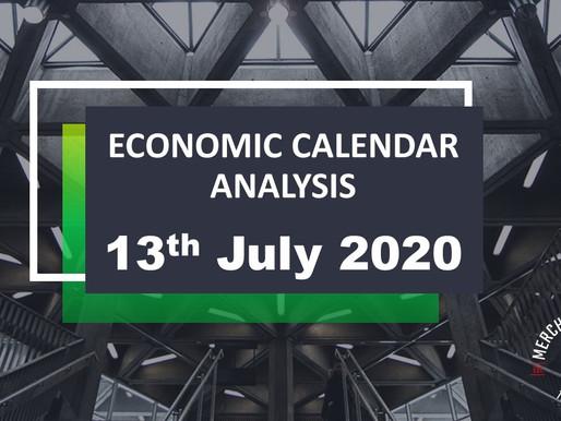 Merchant Economic Calendar | July 13, 2020