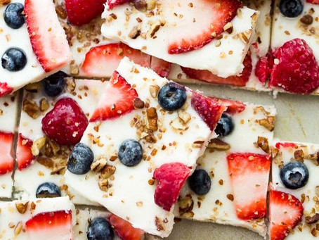 Frozen Yogurt Bark  | #Recipe 20 | Healthy Food lifestyle | #Teamspba