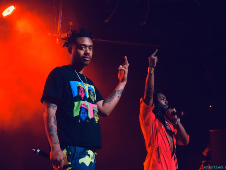 LIVE REVIEW - EARTHGANG @ Max Watts