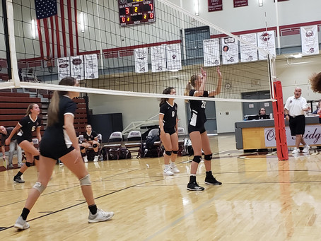 Lady Wildcat Volleyball Gains Second Victory Against West Lady Rebels