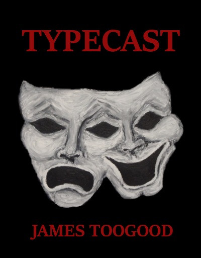 Front cover of novel Typecast. Book available in paperback or kindle.