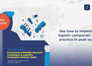 Operational Excellence: E-Commerce Monthly Discount Campaigns & Logistics Companies Delivery Spike
