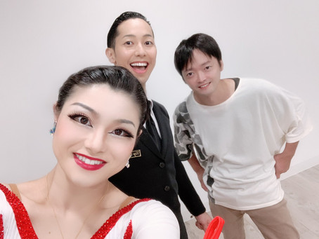 SHOWROOM特典撮影(社交ダンス)