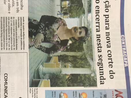 Na Imprensa - Jornal Agora divulga Fearg 2018