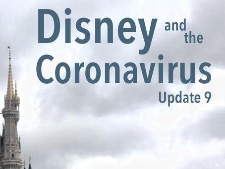 Disney and the Coronavirus - Update 9