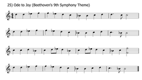 Ode to Joy (Beethoven) | OBOE