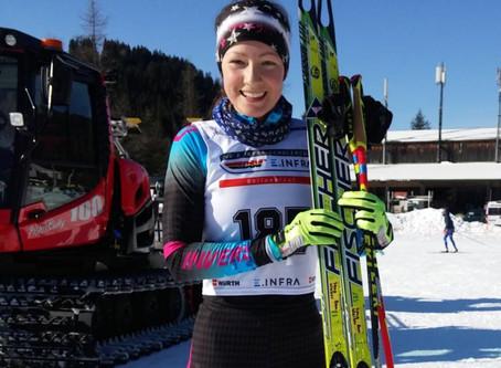 Daria Klaiber siegt beim 2.Deutschen Schülercup in Garmisch-Partenkirchen