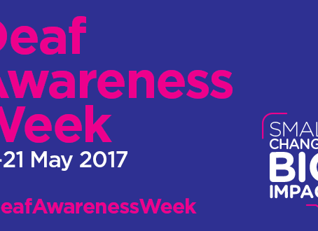 When Your Baby Is Born Deaf.... National Deaf Awareness Week 15th May - 21st May