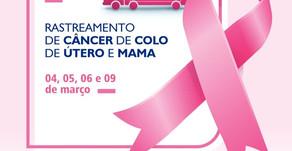 João Dourado recebe  Unidade Móvel do Programa de Rastreamento do Câncer de Útero e Mama.