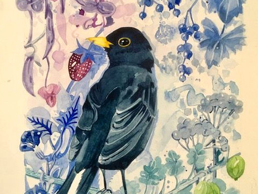Japanese Watercolour Joy!