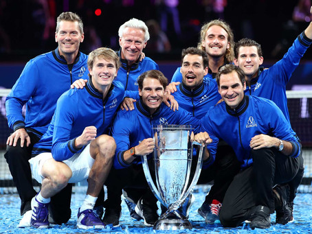 TEAM EUROPE WINS 3RD TITLE AT LAVER CUP