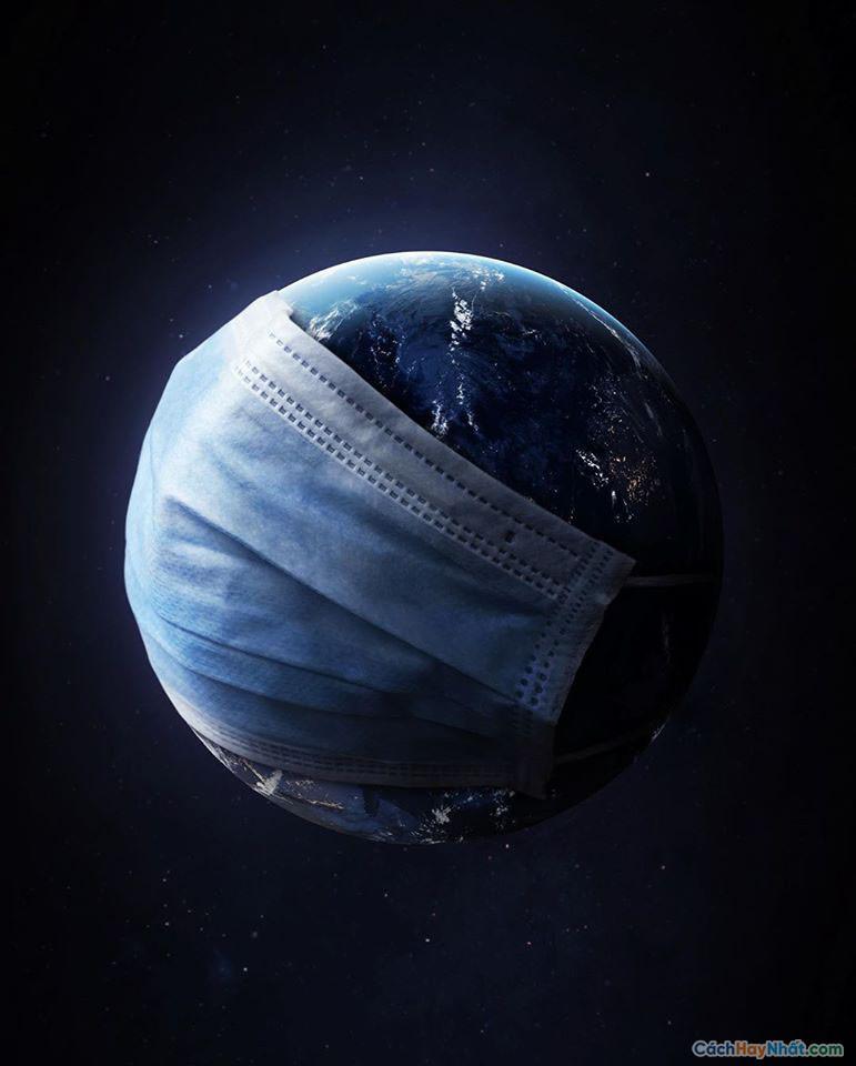 Ảnh chế mặt nạ trái đất của justin peters