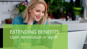 Extending Benefits Upon Termination or Layoff