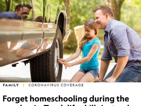 A pandemia, o homeschooling e a importância das habilidades de vida
