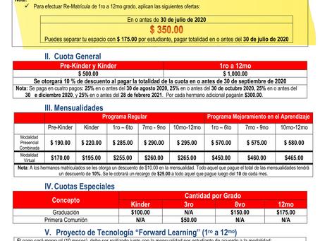 Oferta de matrícula (2020-2021)