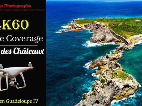 4K/60fps Drone Coverage | Return to Pointe des Châteaux, Guadeloupe