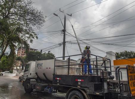 Reclamos por los apagones en los barrios de Barranquilla