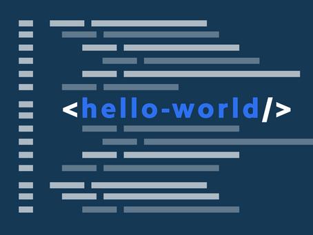 #HelloWorld