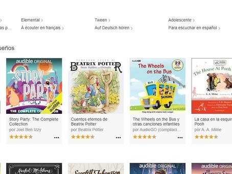 Audiable an Amazon Company cancela suscripción de libros e historias de audio para niños