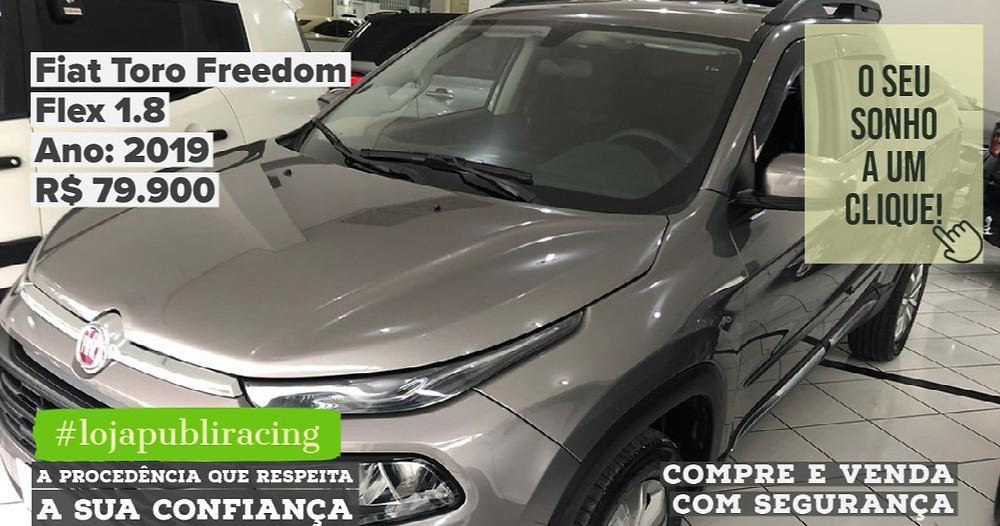 ACESSE #LOJA CLICANDO - Fiat Toro Freedom - Ano 2019