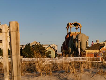 Una casa del tamaño de un elefante en la costa de Nueva Jersey ahora disponible en Airbnb