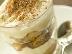 Chestnut Tiramisu Dessert