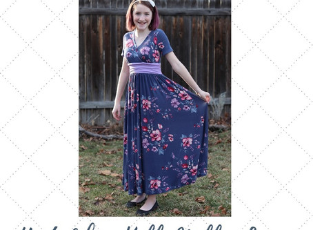 Bella Sunshine Designs Amelia Top & Dress Sew Along