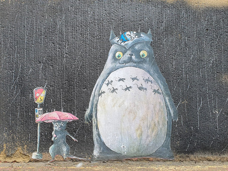 Delightful Street Art By 'Lost Hills' In The Commercial District of Liverpool City Centre
