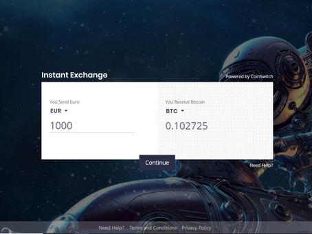 Vereinfachtes Krypto-Trading, jetzt direkt von unserer Website aus...
