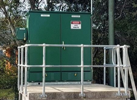 Green on-site telemetry panels