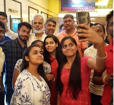 Megastar Aazaad's Aham Brahmasmi roared at The Capital of India New Delh