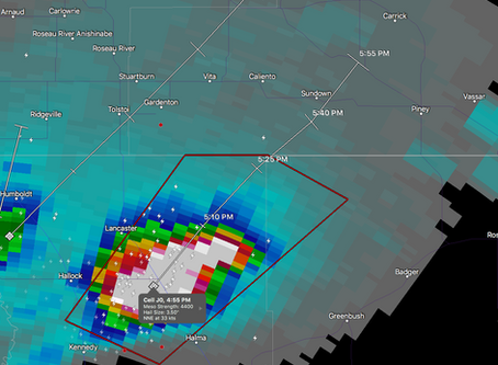 Tornado warnings issued for Sundown, Manitoba